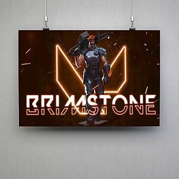 Valorant : Brimstone Poster