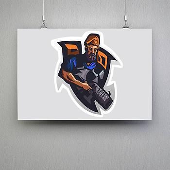 Valorant : BrimstoneMini Poster