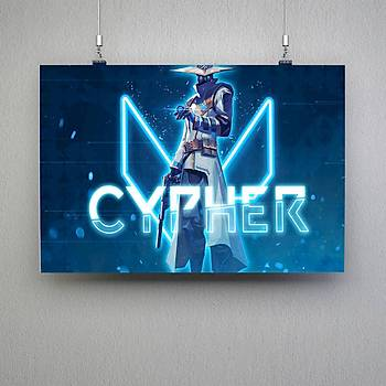 Valorant : Cypher Poster