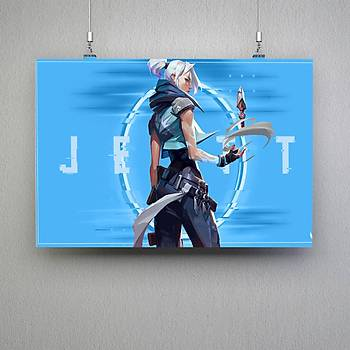 Valorant : Jett 11 Poster