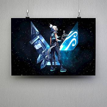 Valorant : Jett 4 Poster