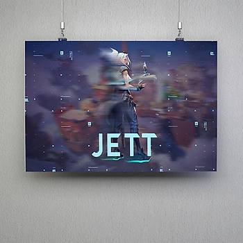 Valorant : Jett 5 Poster