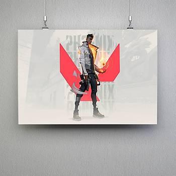 Valorant : Phoenix 4 Poster