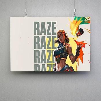 Valorant : Raze 1 Poster
