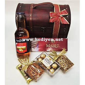 Kurumsal Çikolata Hediye Sandýðý orta boy