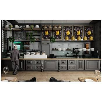 Cafe Restaurant Tezgahlarý