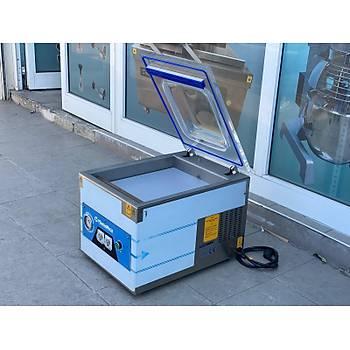 Makropack 35 Cm Tek Çene Set Üstü Vakum Makinesi