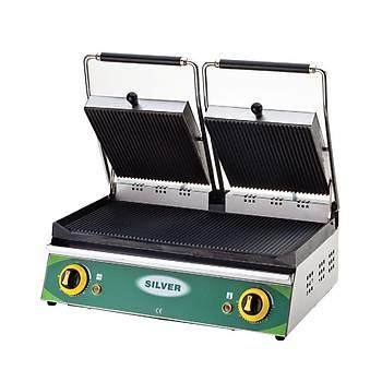 Silver 20 Dilim Elektrikli Çift Kapaklý Tost Makinesi