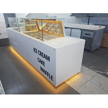 Waffle Dolabý Pasta Dolabý Dondurma Dolabý Full Set