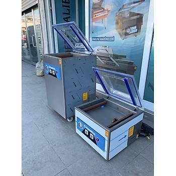 Makropack 41 Cm Çift Çene Ayaklý Vakum Makinesi
