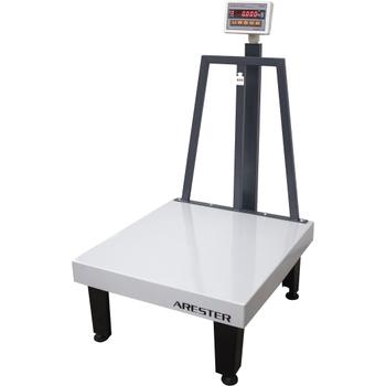 Arester RS-LED 80x90 600 KG 70cm Ayaklý Elektronik Baskül