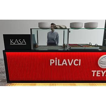 Pilav Sunum Tezgahý - Özel Tasarým Tezgahlar