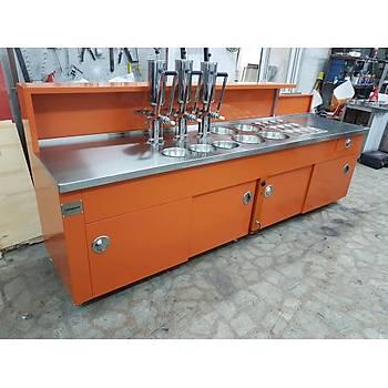 Çikolata Dolgulu Lokma Tezgahý Orange
