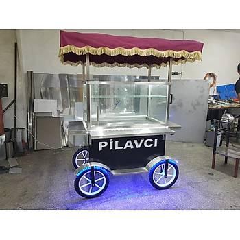 Tenteli Seyyar Pilav Arabasý