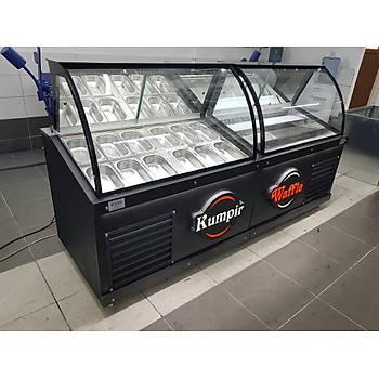 Waffle Dolabý ve Kumpir Dolabý Ýkili Set