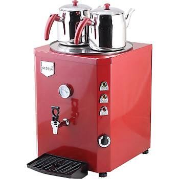 Remta Jumbo Kazan 2 Demlikli Çay Makinesi 23 LT
