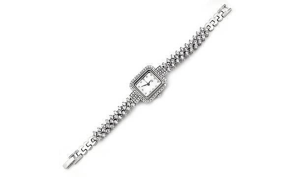 Gümüþ Saat Bayan Zirkon Taþlý