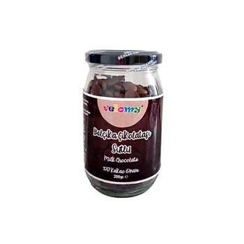 Velomy 350 Gr Belçika Çikolatasý Sütlü Çikolata Cam Kavanoz