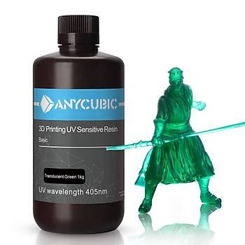 Anycubic UV Reçine 1000 ml - Yeþil