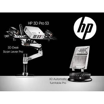 HP 3D Pro S3 - 3D Tarayýcý Süper Paket
