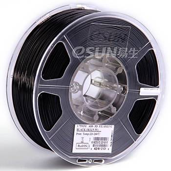 Esun - ABS+ Filament Siyah 1.75 mm