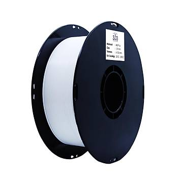 3D3 ABS Plus Filament 1.75 mm Beyaz