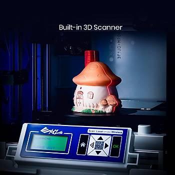 XYZ Da Vinci JR 3 in 1 - 3D Yazıcı, 3D Tarayıcı, Laser Engraver