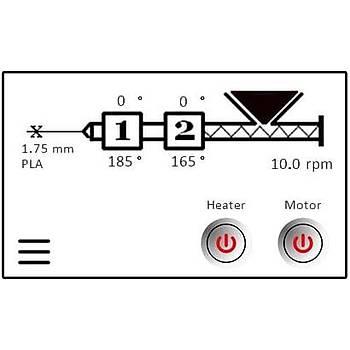 FilameX Fx-20 Plus Filament Ekstrüzyon Makinesi