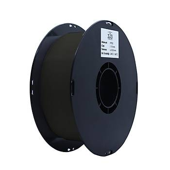 3D3 PETG Filament 1.75 mm Siyah