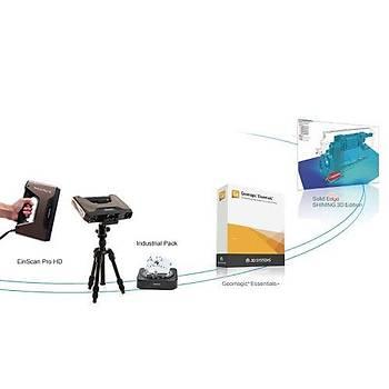 Shining 3D EinScan Pro HD 3D Tarayýcý Tersine Mühendislik Paketi