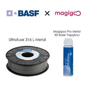 BASF X Magigoo 316 L Metal Filament Paketi