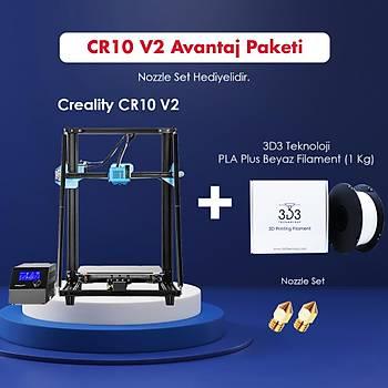 Creality CR10 V2 Avantaj Paketi (Nozzle Set Hediyeli)