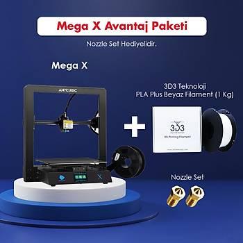 Anycubic Mega X Avantaj Paketi (Nozzle Set Hediyeli)