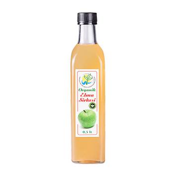 Organik-Doğal  Fermente Elma Sirkesi- 0.5 Litre