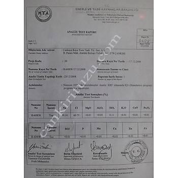 Çankýrý Kaya Tuzu-Granül. 500  x 2 pakettir.