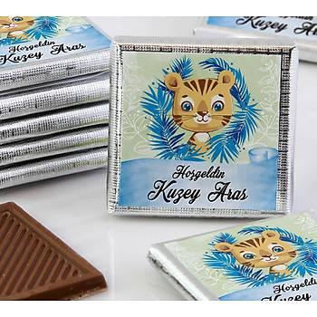 Erkek Bebek Çikolatasý - Kutulu - Kaplan