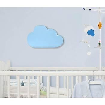Dekoratif Büyük Bulut - Mavi