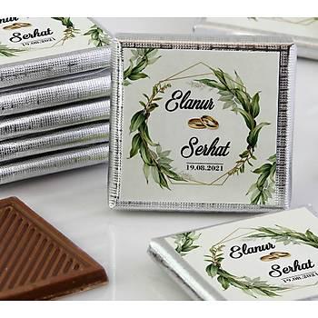 Söz-Niþan Çikolatasý - Kutulu - Kristal, Yaprak MD1