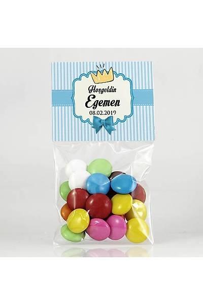 Bonibon Çikolata - Mavi Temalý - Taç