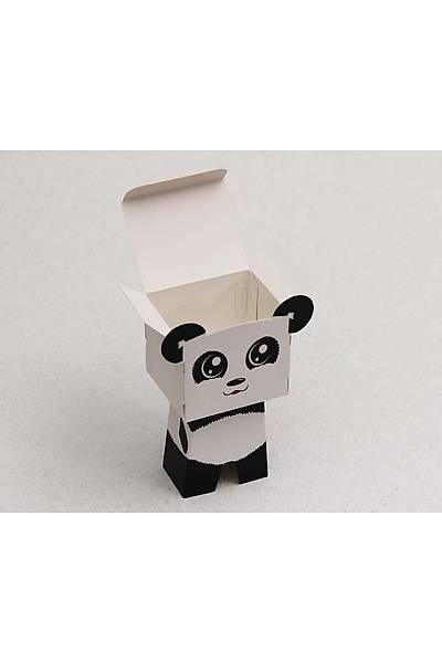 Figür Kutu - Panda Karakter Þeker Kutusu