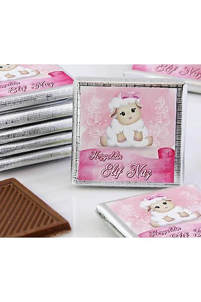 Kýz Bebek Çikolatasý - Kutulu - Kuzu