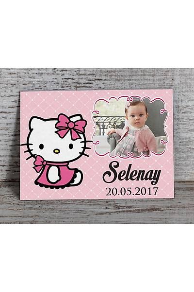 Hello Kitty Temalý, Fotoðraflý Magnet - 8 Adet