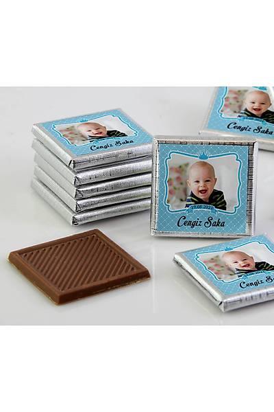 Erkek Bebek Çikolatasý - Kutulu - Fotoðraflý