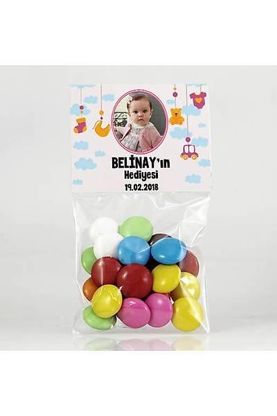 Bonibon Çikolata - Fotoðraflý Pembe Temalý- Oyuncaklý