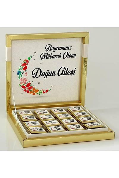 Bayram Çikolatasý - Kutulu - Kiþiye Özel