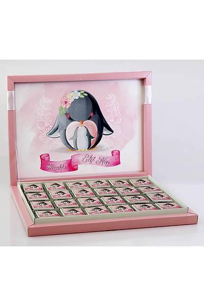 Kýz Bebek Çikolatasý - Kutulu - Penguen