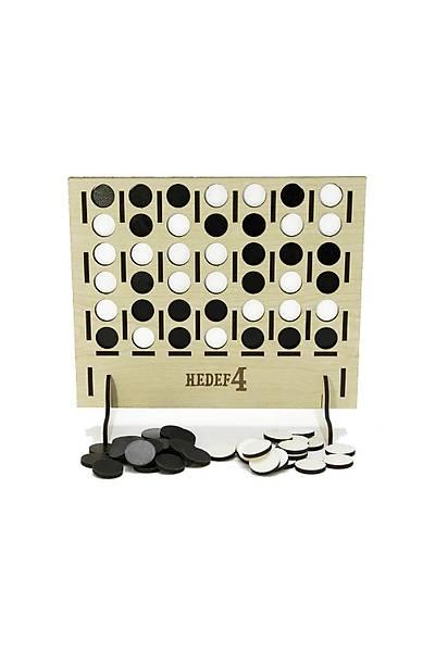 Hedef 4 (Bingo) Zeka Oyunu - Ahþap