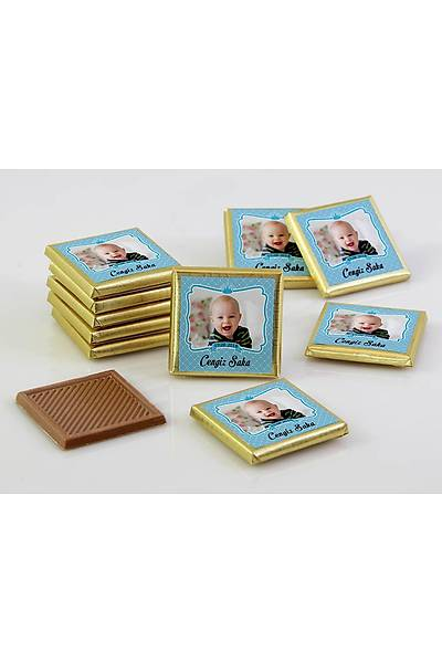 Erkek Bebek Dökme Çikolata - Fotoðraflý