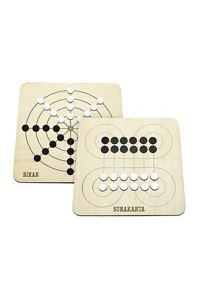 2'si Bir Arada Zeka Oyunu Seti - Surakarta, Bihar