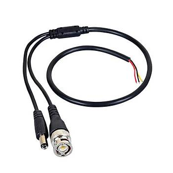 Hazýr BNC + Power Kablo (erkek)